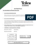 Simulacro Matematica Anual Uni Nº4