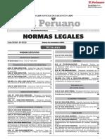 NORMAS LEGALES DEL PERU  01-11-2019