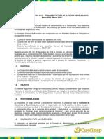Reglamento de Elecciones 2020 - 2023