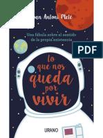 Lo Que Nos Queda Por Vivir - Joan Antoni Melé
