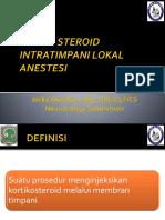 injeksi intratimpani