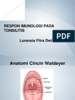 Respon Imunologi Tonsil