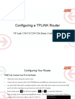 Tp Link c50 c20 c20i c2 Basic Configuration Guide