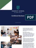 PS Certificate Brochure