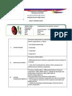 Adacuna Dlp Fabm1 Wk2 June 23, 2017 Form of Business Organization