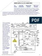 Computer Power Supply- Diagram and Operation