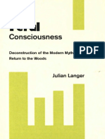 Julian Langer - Feral Consciousness - Deconstruction of the Modern Myth and Return to the Woods