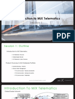 Day 1.Session 1. Intro to MiX Telematics & System Overview