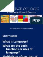 4 Language of Logic