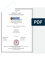 fundamental analysis and technical analysis project report on power sector