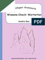 A17-014 Leseprobe Wissens-Check Wortarten 5.-6.Klasse