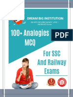 100+ Analogies PDF For SSC And Railway Exam