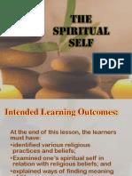 Lecture 9 Spiritual Self