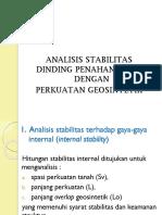 Pt 6. Analisis Perkuatan Geosintetik