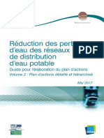 GUIDE METHODOLOGIE REDUCTION DES PERTES EN AEP