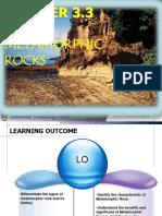 Geology Chapter 3.3_metamorphic Rocks