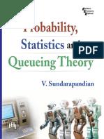 Probability, Statistics and Que - V. Sundarapandian