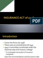 Insurance Act 1938
