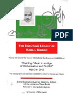 The Enduring Legacy of Kahlil Gibran
