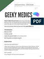 Geekymedics.com-Obstetric Abdominal Examination OSCE Guide