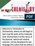 Biochem Introduction