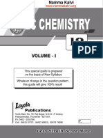 Namma Kalvi 12th Chemistry Unit 1 to 4 Loyola Ec Guide Em