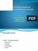Concept of Health and Disease- Gulzar