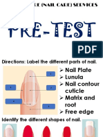 nail care pre-test ppt