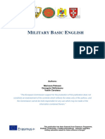 Military dictionary