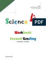 Science Workbook [ Bones and Muscles ]