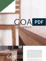 091201 GOA Select Prospekt