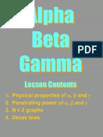 Alpha beta Gamma As