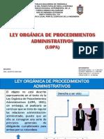 Exposicion de La LOPA