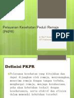 Sosialisasi PKPR