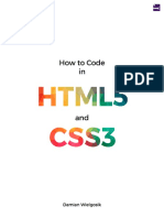 How to code in HTML5 and CSS3