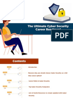 The Ultimate Cyber Security Career Roadmap