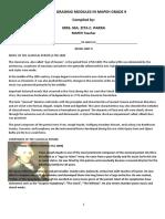 Mapeh Syllabus Unit II (1)