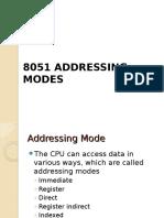 8051 Addressing Mode