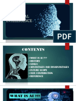 AI_presentation by Vidhi&Vidhee