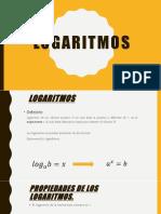 Aplicación de logaritmos