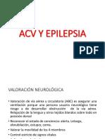 Cuidado en Acy y Epilepsia- Enfermeria