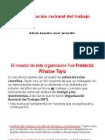 0_Presentación LA ORGANIZACION RACIONAL DEL TRABAJO