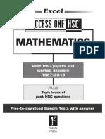 Success One HSC Mathematics Online Resource 2019