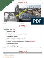 Bridge course introduction