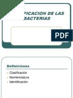 3.Clasificacion de Las Bacterias