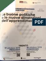 2019 Ottobre Convegno - premio Basile a Trento