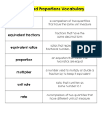 Ratios and Proportions Resource