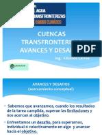 4 Cuencas Transfronterizas Avances y Desafios Eduardo Larrea