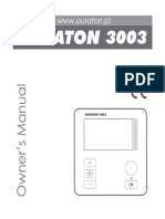 Manual AURATON 3003 En