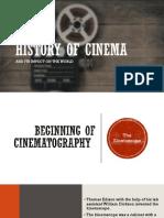 History of Cinema God Edition 2